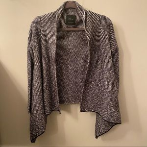 Zara Knit Draped Cardigan